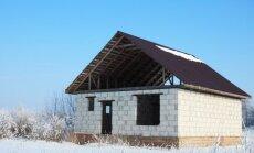 Kaip teisingai žiemai paruošti stogą