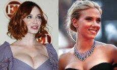 Christina Hendricks, Scarlett Johansson