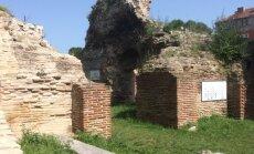 Romėnų pirčių griuvėsiai Varnoje, Bulgarijoje