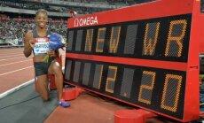 Neįtikėtina: į Rio nepatekusi amerikietė pagerino beveik 30 metų senumo pasaulio rekordą
