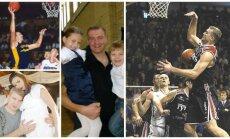 Aleksandras Okunskis su šeima (Facebook, DELFI archyvo nuotr.)