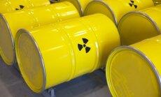 Didžiausias branduolinės energetikos minusas - radioaktyvios atliekos, kurias reikia kruopščiai saugoti