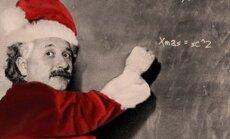 Kalėdų senelis fiziko akimis