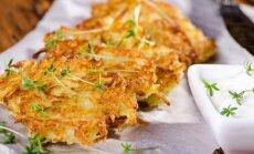 Greiti ir pasakiškai skanūs bulviniai blynai