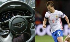 """""""Bentley"""" automobilis ir Aleksandras Kokorinas"""