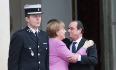 A. Merkel ir F. Hollande'as