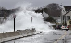 "Uraganas ""Sandy"" Atlantik Sityje"