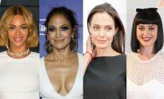 Beyonce, Jennifer Lopez, Angelina Jolie, Katy Perry