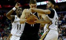 Susitinka Pelicans ir Nets komandos
