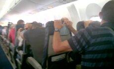 Vilnietis nufilmavo avarinį lėktuvo nusileidimą