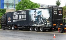 Harley-Davidson pradėjo turą po Europą