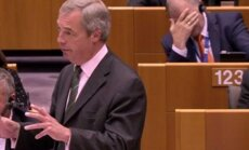 Andriukaitis reaction to Farage's speech