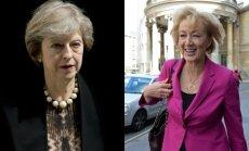 Theresa May ir Andrea Leadsom