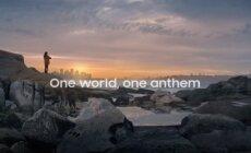 """Jausminga """"Samsung"""" reklama: iš skirtingų pasaulio himnų sudėliojo vieną"""