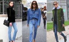 4 džinsų modeliai, kurie privalo atsirasti kiekvienos stilingos moters spintoje