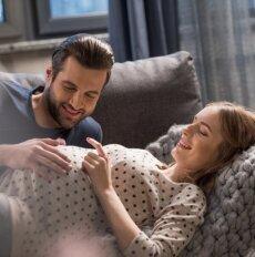 Kaip yra iš tiesų: ar vyrui vieta gimdyme?