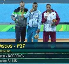 Parolimpinių žaidynių pirma diena: M. Bilius iškovojo sidabrą, K. Skučas liko ketvirtas