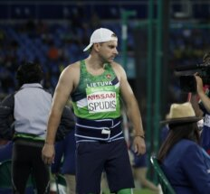 Dešimtą vietą Rio užėmęs parolimpietis J. Spudis supyko ant savęs