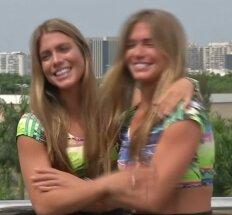 Dvynės brazilės garsina atstovaujamą sporto šaką socialiniuose tinkluose