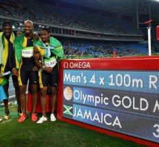 Tobula pabaiga: U. Boltas laimėjo devintą aukso medalį iš devynių galimų
