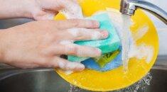 Gudrybė, padėsianti apsaugoti rankas plaunant indus