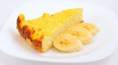 Nekaloringas bananinis pyragas: niekada nemaniau, kad kepsiu kažką tris dienas iš eilės