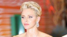 Princesės Charlene išvaizda kelia įtarimus FOTO