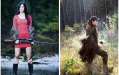 Jaunoji medžiotoja atvira: žvėrių man negaila