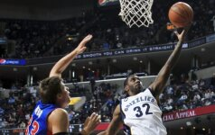 """NBA lygoje """"Grizzlies"""" klubas iškovojo aštuntą pergalę per devynis pastaruosius mačus"""