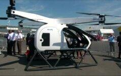 """Skraidantis automobilis """"SureFly"""": norint jį pilotuoti, nereikia piloto licencijos"""