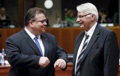 Lietuvos ir Lenkijos santykiai suka nauju keliu