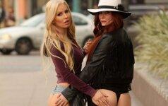 Ana Braga ir Phoebe Price