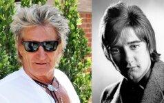 Rodas Stewartas dabar atrodo geriau nei prieš 50 metų