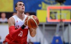 Atranka į Europos čempionatą: supykusi Rusijos rinktinė stvėrė bosnius už gerklių