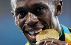 Olimpinis Rio: U. Bolto aukso medaliai nublanko prieš neištikimybės skandalą