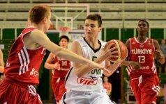 Lietuvos 18-mečių krepšinio rinktinės pergalėmis pradėjo turnyrą Estijoje