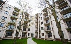 Vis daugiau lietuvių neskuba pirkti nuosavo būsto