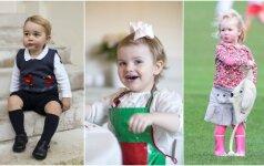 Patys žaviausi karališkieji vaikai FOTO