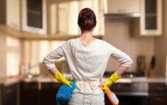 Kaip palaikyti švarą namuose, kad generalinės tvarkos namuose reikėtų kuo rečiau?