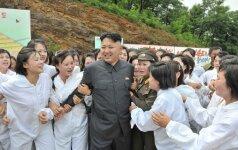 TV kanalas giriasi uždavęs klausimą Kim Jong Unui
