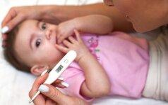 Gripas kerta vaikus: ką svarbu žinoti