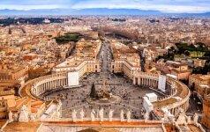 Dėl sausros Romoje galimai bus ribojamas vandens vartojimas