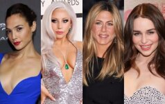 Gal Gadot, Lady Gaga, Jennifer Aniston, Emilia Clarke