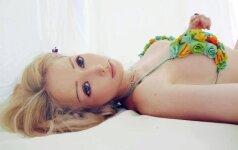 Ukrainos sekso bomba sprogo: nuodėmingą grožį parodė gamtoje