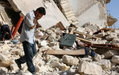 Paliaubos Alepe nieko nedavė