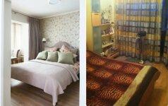 PRIEŠ ir PO: 3 kambarių 70 kv.m. buto Vilniuje atgimimas