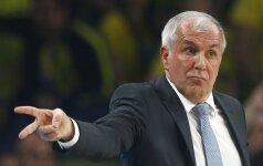 """Ž. Obradovičius naująjį FIBA kalendorių vadina """"nelaime"""" ir auklėja jaunąsias serbų žvaigždes"""