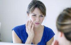 Degančios burnos sindromas