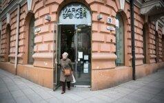 """""""Marks&Spencer"""" paskelbė parduotuvės Vilniuje uždarymo datą"""