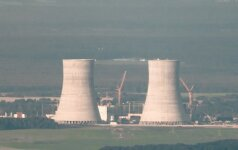 Belarus' Astravyets nuclear power plant under construction
